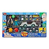 Disney Phineas and Ferb Ferb My Ride Vehicle Exclusive Playset Agent Ps Hovercraft Includes Agent P Dr Doofenshmirtz Action Figures!