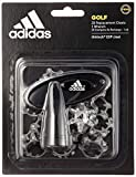 adidas 2017 Golf ThinTech EXP Cleat 20 Pins Pack Golf Shoe Spikes + Free Wrench Black