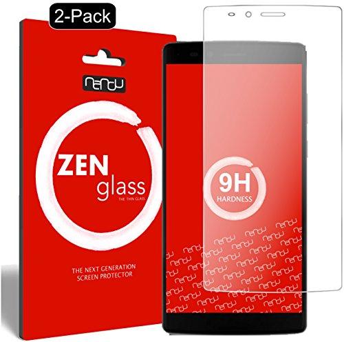 ZenGlass [2 Stück Flexible Glas-Folie kompatibel mit Vernee Apollo Lite 4G (5,5 Zoll) Panzerfolie I Bildschirm-Schutzfolie 9H
