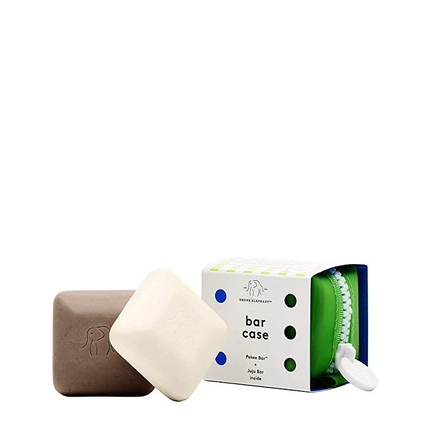 自発的安息財産DRUNK ELEPHANT Baby Bar Travel Duo with Case [並行輸入品]
