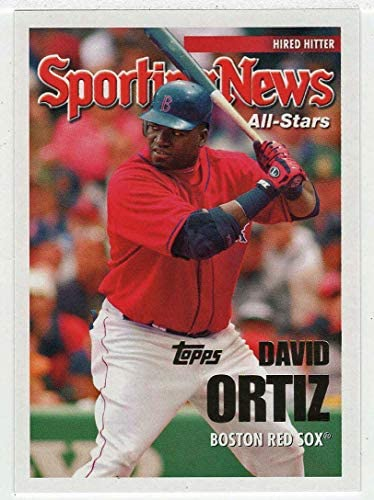 David Ortiz Baseball Card 2005 Topps Updates UH 154 NM MT product image