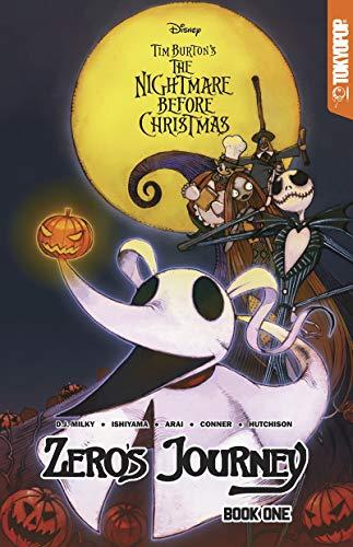 Disney Manga: Tim Burton's The Nightmare Before Christmas -- Zero's Journey Graphic...
