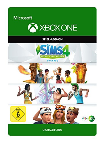 The SIMS 4: Deluxe Party Upgrade   Xbox One - Download Code