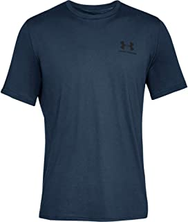 Under Armour Sportstyle Left Chest, Super Soft Men's T Shirt for Training and Fitness, Fast-Drying Men's T Shirt with Grap...