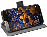 mumbi Tasche Bookstyle Hülle kompatibel mit Huawei G8 / GX8 Hülle Handytasche Hülle Wallet, schwarz
