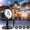 Outdoor IP65 Waterproof Christmas Snowflake LED Projector Lights