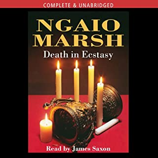 Death in Ecstasy audiobook cover art