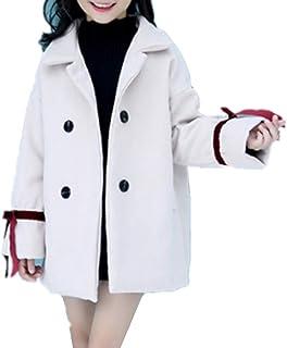 YOJAP 女の子 ラシャコート 子ども ラシャジャケット 防寒服 子供服 軽量 秋 冬 キッズ服 暖かい アウター