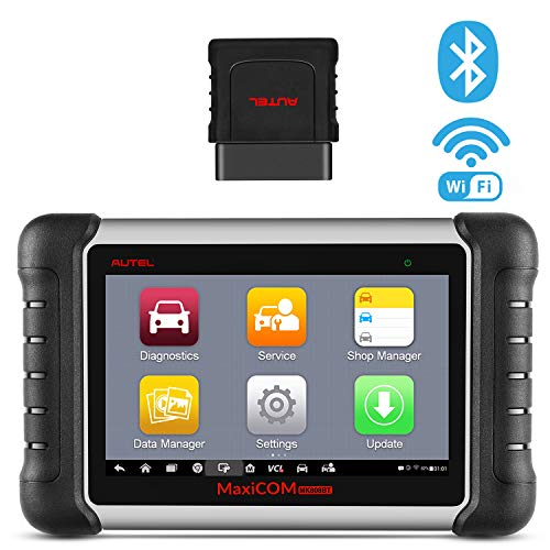 Autel MaxiCOM MK808BT Diagnostic Scan Tool with All System Diagnosis and 21 Services IMMO Oil Reset EPB BMS SAS DPF ABS Bleed Upgraded Ver of MK808 MaxiCheck Pro  MD808 Pro