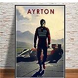 Poster Und Drucke Heißer F1 Fahrer Ayrton Senna Ken