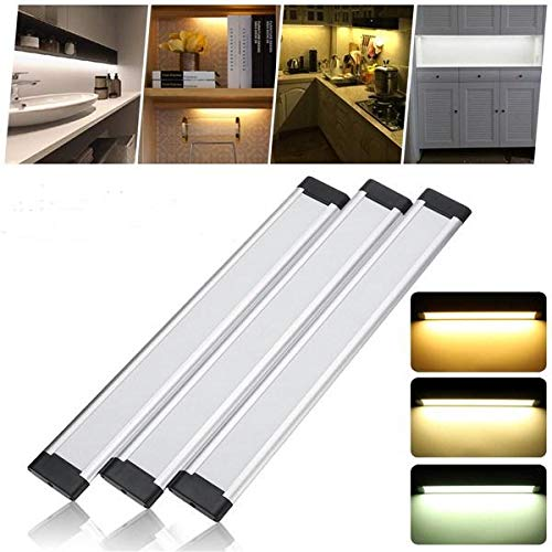 NHDY 30cm LED Strip Cabinet Facile Placard Lampe de Nuit for la Cuisine Placard Salle de Bains 0910 (Color : Cool White)