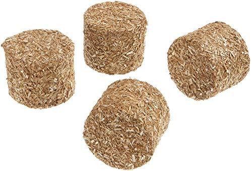 Kids Globe Farming 610703 - Balle di Fieno cilindriche, Set da 4