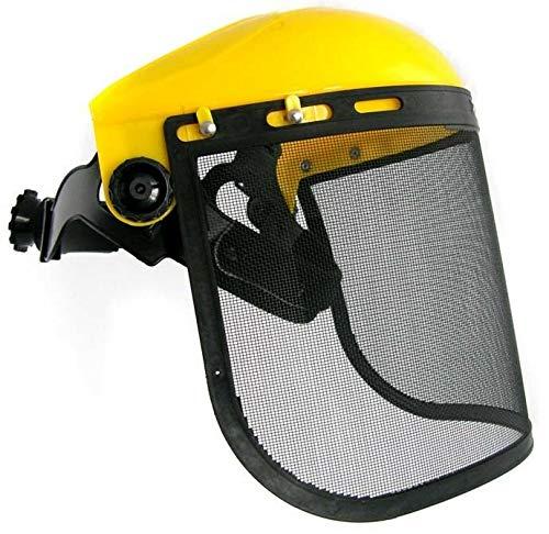 universal Gesichtsschutz - Schutz mit Netzvisier für Motorsense/Freischneider