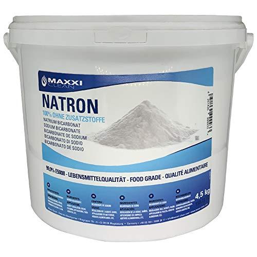 Natron - Backpulver - 4,5kg Dose - Natrium Bicarbonat