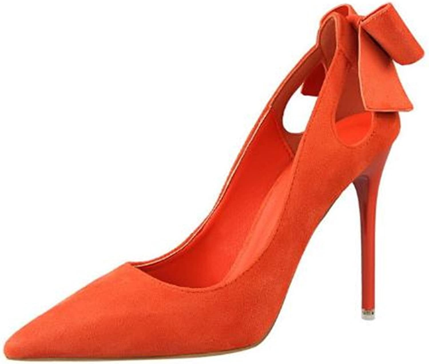 FORTUN Wedding shoes Women's high-Heeled shoes Sexy Pointed Toe Stilettos Elegant