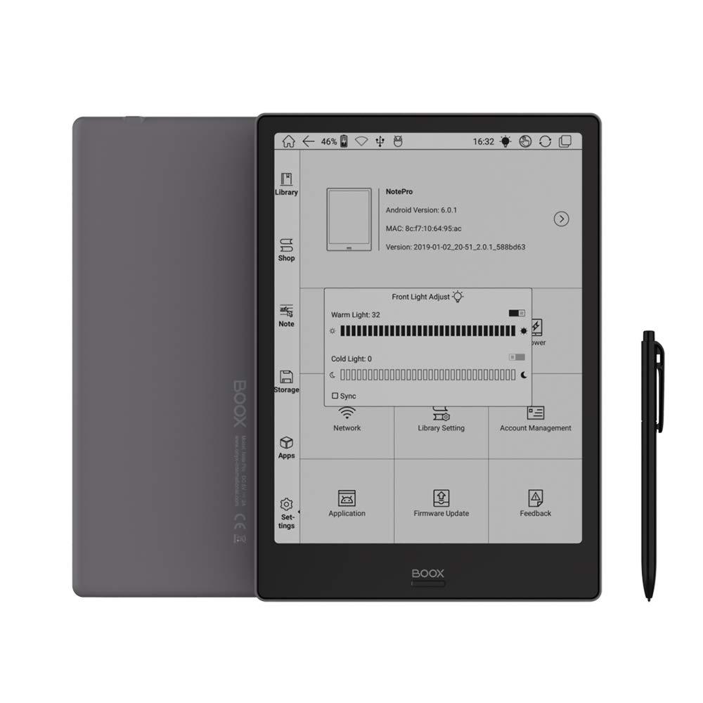 BOOX Note Pro 10.3 E-Reader, luz Delantera, 4 G 64 G Soporte actualización a Android 9.0 Pronto: Amazon.es: Electrónica
