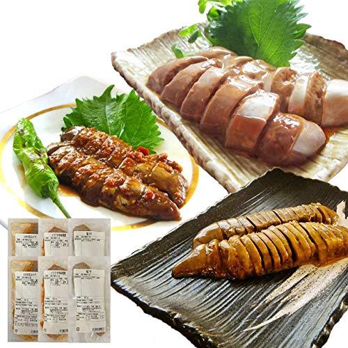 イカ屋荘三郎 珍味 いかわた 食べ比べ50g 各2袋 イカわたの塩辛(醤油味 塩味 辛味噌味) 国産 お取り寄せ ギフト 石川産 ヤマキ食品 #元気いただきますプロジェクト