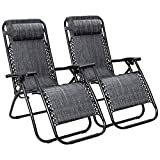 Best Gravity Chairs - Flamaker Patio Zero Gravity Chair Outdoor Folding Lounge Review