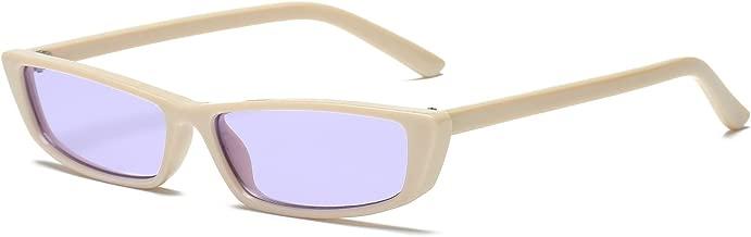 FEISEDY Vintage Square Small Sunglasses Women Acetate Frame Eyewear B2292