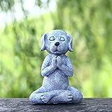 CNZXCO Gnomos Y Duendes, 2 Unids Hadas Figuras Decoracion, Figuras Jardin Exterior, 12 Cm De Yoga Pe...