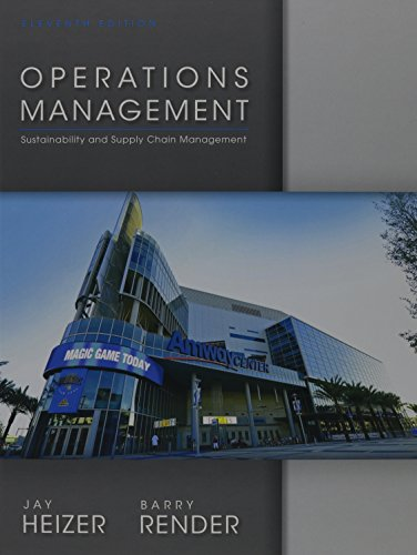 Operations Management (11th Edition)