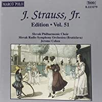 STRAUSS II, J.: Edition - Vol. 51 by Jerome Cohen