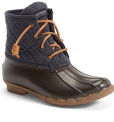 Sperry Women's Saltwater Wool Rain Boots