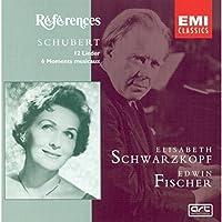 12 Lieder: 6 Moments Musicaux by Schubert (2004-01-01)