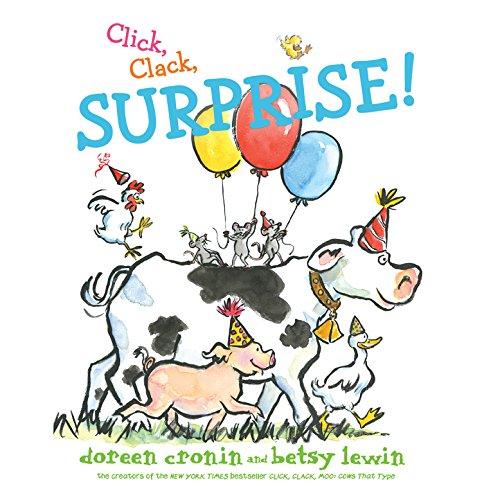 Page de couverture de Click, Clack, Surprise!