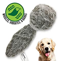 PLUSH SQUEAKY DOG TOY THAT WIGGLES, VIBRATES, & BARKS –Entice your dog to run, chase, play, and exercise. This interactive dog toy encourages fun playtime for dogs of all life stages of life REDUCE ANXIETY AND BOREDOM – With funny sounds and erratic ...