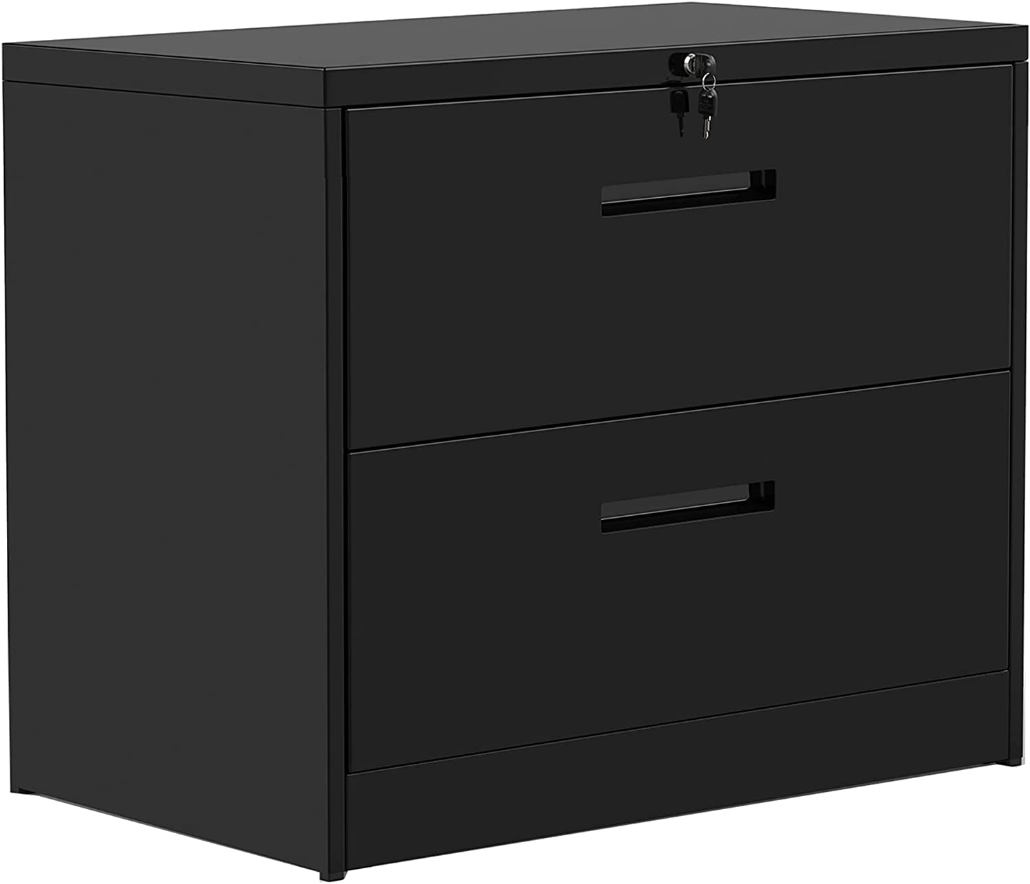 New Directly managed store sales Lateral File Cabinet Rockjame 2 Metal Filing Lockable Drawers C
