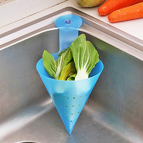 youngfate Filtro Plegable Autoportante Fregadero Simple para Fregadero con Ventosa Dispositivo Anti Bloqueo Colador Flexible De Alimentos para Cocina