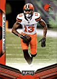 2019 Playoff Football #37 Odell Beckham Jr. Cleveland Browns Official Panini NFL Trading Card