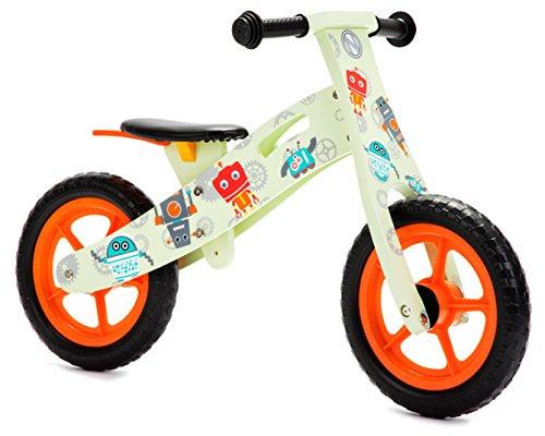 Nicko NIC863 Bicicleta de Equilibrio, Verde, Large, One Size
