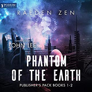 The Phantom of the Earth: Publisher's Pack cover art