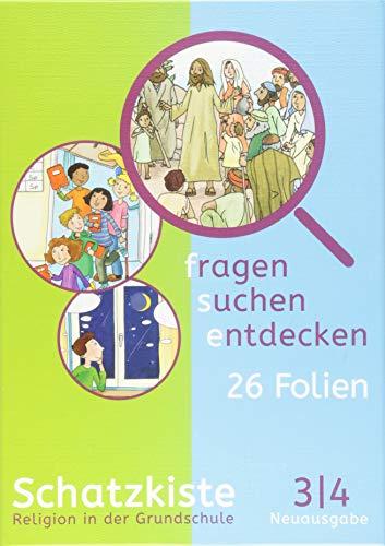 Fragen-suchen-entdecken - Katholische Religion in der Grundschule - Zu Neuausgabe und Ausgabe N - Band 3/4: Schatzkiste - Folienmappe