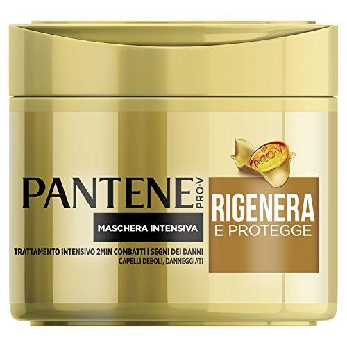 Pantene Maschera Intensiva Rigenera e Protegge, Trattamento Intensivo in 2 Minuti, 300 ml