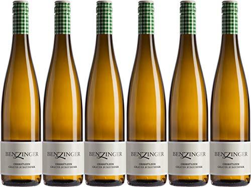 Benzinger Grauer Burgunder 2020 Trocken Ecovin Bio (6 x 0.75 l)