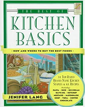 Wings Great Cookbooks: Best of Kitchen Basics by Jennifer Lang (Wings Great Cookbooks) 0517147041 Book Cover