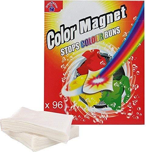 CleanSoEasy - Lote de 96 toallitas antidecoloración, color magnético