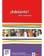 ¡Adelante! Nivel elemental: Cuaderno de actividades mit Audio-CD und Vokabeltrainer 1. Lernjahr (¡Adelante! Spanisch als neu einsetzende Fremdsprache ... Oberstufe. Allgemeine Ausgabe ab 2010)
