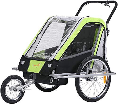 Fahrradanhänger Kinder Jogger Kinderwagen Combo 2 in 1 Kinder Jogger Anhänger Baby Kinderwagen Anhänger