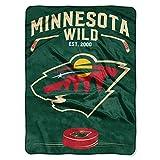 The Northwest Company NHL Minnesota Wild 'Inspired' Raschel Throw Blanket, 60' x 80' , green