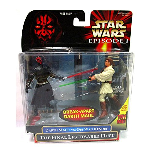Star Wars: Episode 1 - The Final Lightsaber Duel (Obi-Wan vs. Darth Maul) Action Figure 2-Pack