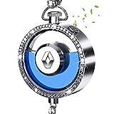 WENYIN Dispensador de ambientador Perfume de Coche Logo Adorno de Diamantes para Coche decoración Colgante de Espejo retrovisor