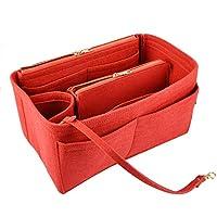 Luxur Felt Bag Organizer for LV Speedy Neverfull Tote Handbag