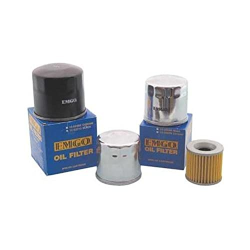 EMGO OIL FILTER BLK SUZ BURGMAN 400 DR GN GS LT SP 125