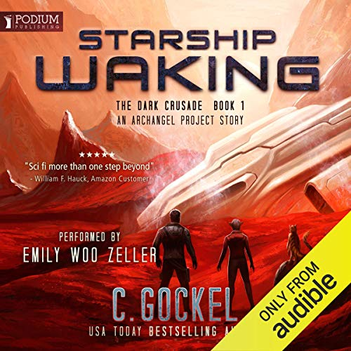Starship Waking: An Archangel Project Story audiobook cover art