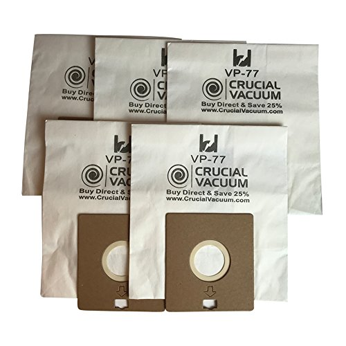 Crucial Vacuum 5 Bissell DigiPro Canister Vacuum Bags; Fits Bissell DigiPro...