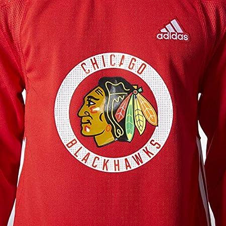 Amazon.com : adidas Chicago Blackhawks NHL Men's Climalite ...